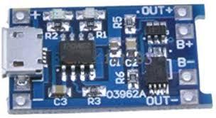 5V Micro <b>USB</b> 1A 18650 <b>Lithium Battery</b> Charging Board Charger ...