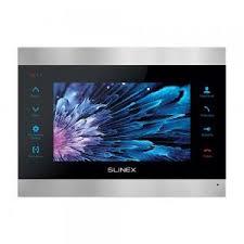 <b>Slinex SL</b>-<b>07M Silver</b>+<b>Black</b>: монитор <b>видеодомофона</b> с экраном ...