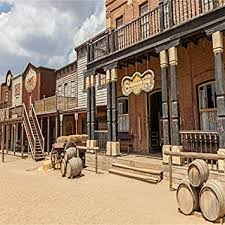 Laeacco Photography Background Old Wild West ... - Amazon.com