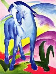 Описание картины <b>Франца</b> Марка «<b>Синий конь</b>»
