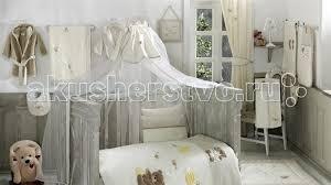 <b>Балдахин для кроватки Kidboo</b> Honey Bear Linen - Акушерство.Ru