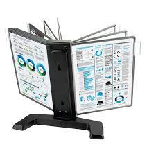 Демосистема <b>настольная Promega</b> office FDS005 10 пан., черный