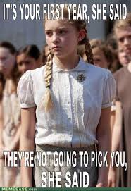 Hunger games meme. Poor Primrose | Nerd-tacular | Pinterest ... via Relatably.com