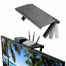 <b>Adjustable Screen Top</b> Shelf Display Computer Monitor Riser ...