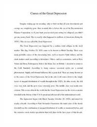 free great depression essays and papers   helpme causes of the great depression essay guide by vxg