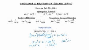 understanding trig identities understanding trig identities