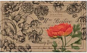 "<b>Коврик придверный Apache Mills</b> ""Vintage Floral Peony"", 46 х 76 ..."