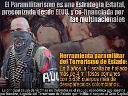 Resultado de imagen de COLOMBIA - LA FARSA DEL PROCESO de PAZ