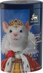 <b>Чай</b> листовой <b>Richard Year</b> of the Royal Mouse, <b>черный</b>, 80 г ...