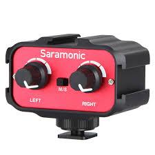 Двухканальный адаптер <b>Saramonic</b> SR-AX100 для <b>микрофонов</b> ...
