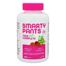 SmartyPants - <b>Teen Girl</b>! <b>Complete</b> Multivitamin - 120 Gummies for ...