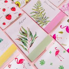<b>1pcs</b>/<b>lot</b> Cute Floral <b>Series</b> Flower and Bird Color Mini Notebook ...