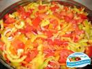 Закуска из болгарского перца с помидорами на зиму