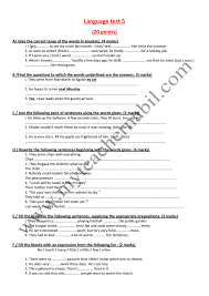 language test answers  language test answers