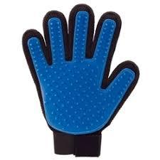 <b>Перчатка</b> для вычесывания шерсти домашних животных true touch
