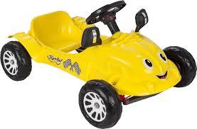 Педальная <b>машина Pilsan</b> Herby Желтая — купить в интернет ...