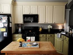 Different Kitchen Cabinets Different Bottom And Top Color Cabinets Seven Pines Kitchen
