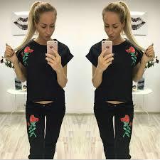 <b>NiceMix 2019</b> summer spring tracksuits <b>sets women</b> suits floral ...