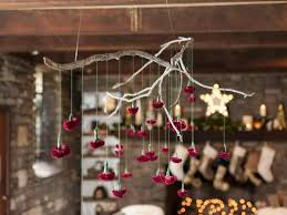 How to Make a Hanging <b>Branch Chandelier</b> for Your Holiday Party ...