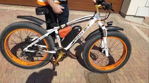 Rower elektryczny <b>Rich Bit</b>, ebike fat tire 1000W - YouTube
