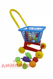 <b>Тележка</b> и набор продуктов <b>Supermarket №1 Полесье</b> 42989 ...