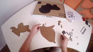 Video Instruction for <b>World Map Wall</b> Decoration by MiMi Innovations ...