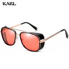 Vazrobe Glass <b>Sunglasses Men Steampunk</b> Vintage <b>Glasses Male</b> ...