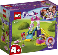 <b>Конструктор LEGO Friends</b> 41396 <b>Игровая</b> площадка для щенков ...