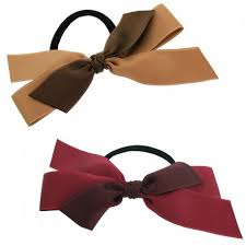 Classic Satin Ribbon Pony in Two Colors - Jennifer Ouellette