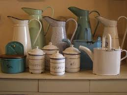 Image result for enamelware decorating ideas