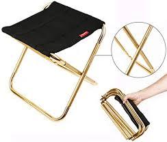 songgaogao <b>Outdoor Portable Mini Folding</b> Stool for Fishing Camping