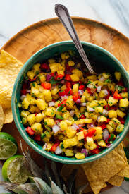<b>Fresh Pineapple</b> Salsa Recipe - Cookie and Kate