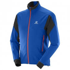Разминочный костюм <b>Salomon Momentum Softshell</b> blue/orange ...