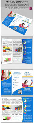17 best images about graf idea tri fold brochure clean service brochure template