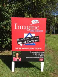 marketing property for real estate agent imagine real brochures just listed flyers