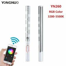 <b>YONGNUO YN260</b> RGB Full Color <b>3200</b>-<b>5500K</b> Handheld LED ...
