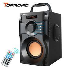 TOPROAD <b>Wireless Bluetooth</b> Speaker Super Bass Subwoofer EQ ...