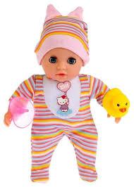 Купить Интерактивный <b>пупс</b> Карапуз <b>Hello Kitty</b>, 20 см, Y20ST-BB ...