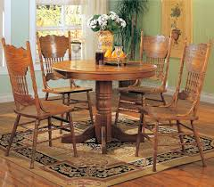 chunky dining table and chairs  dining room medium oak dining table and chairs pk home amazing oak dining room set
