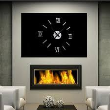 <b>Roman Number</b> Frameless Wall Clock 3D Home Room Decor ₱220 ...