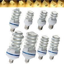 Spiral Style <b>E27</b> 5W-30W LED Ultra <b>Bright Energy Saving</b> Warm ...
