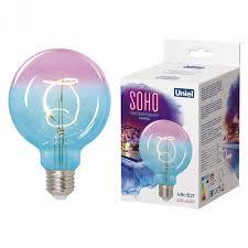 <b>Лампа</b> светодиодная <b>SOHO</b> UL-00005892 <b>Uniel</b> Синяя/винная ...