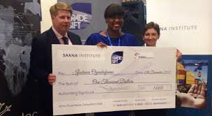 winner of the saana institute africa trades essay competition    the winner of the saana institute africa trades essay competition  ms ifeoluwa ogunbufunmi  together   mr tom pengelly  managing director of saana