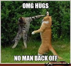 OMG hugs - Memestache via Relatably.com
