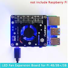 Raspberry Pi LED Cooling Fan Module <b>GPIO Expansion</b> Board ...