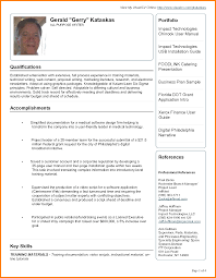 example of a good cv pdf housekeeper checklist example of a good cv pdf good sample resume pdf 69687114 png