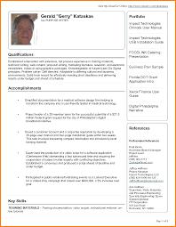 example of a good cv pdf housekeeper checklist example of a good cv pdf good sample resume pdf 69687114 png