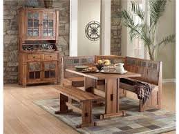 brown wooden breakfast corner table breakfast furniture sets