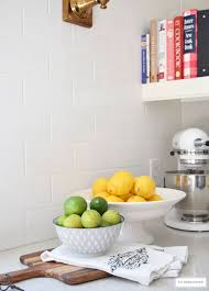 Lemon And Lime Kitchen Decor Citrineliving Spring In Full Swing Home Tour 2017