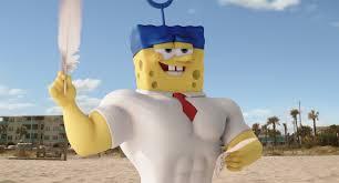 Resultado de imagen de bob esponja un heroe fuera del agua